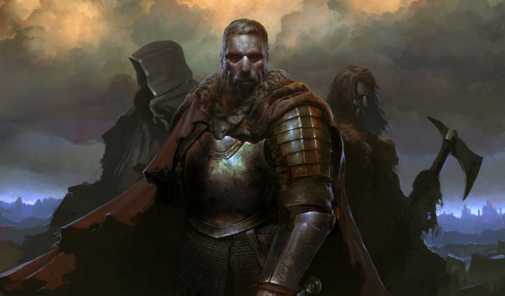SpellForce 3, warriors, Video game, 1024x600 wallpaper