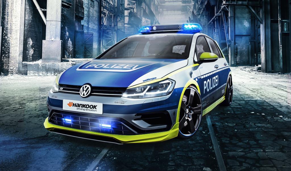 Oettinger Volkswagen Golf 400r, tune it safe, car, 1024x600 wallpaper