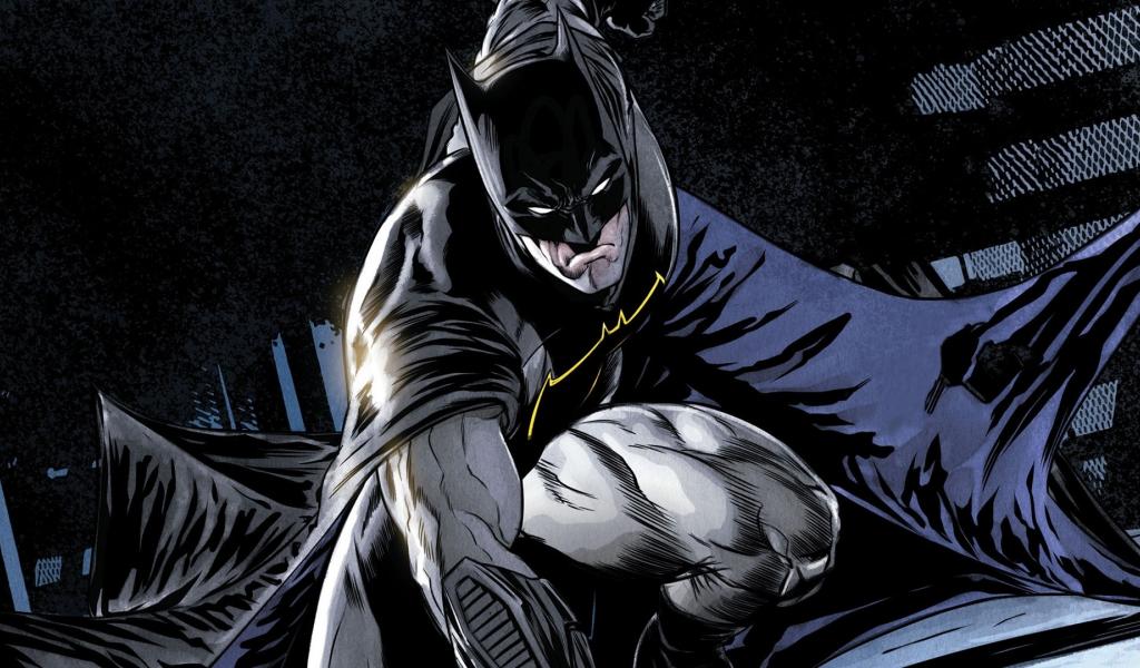 Comics, batman, dark knight, superhero, 1024x600 wallpaper