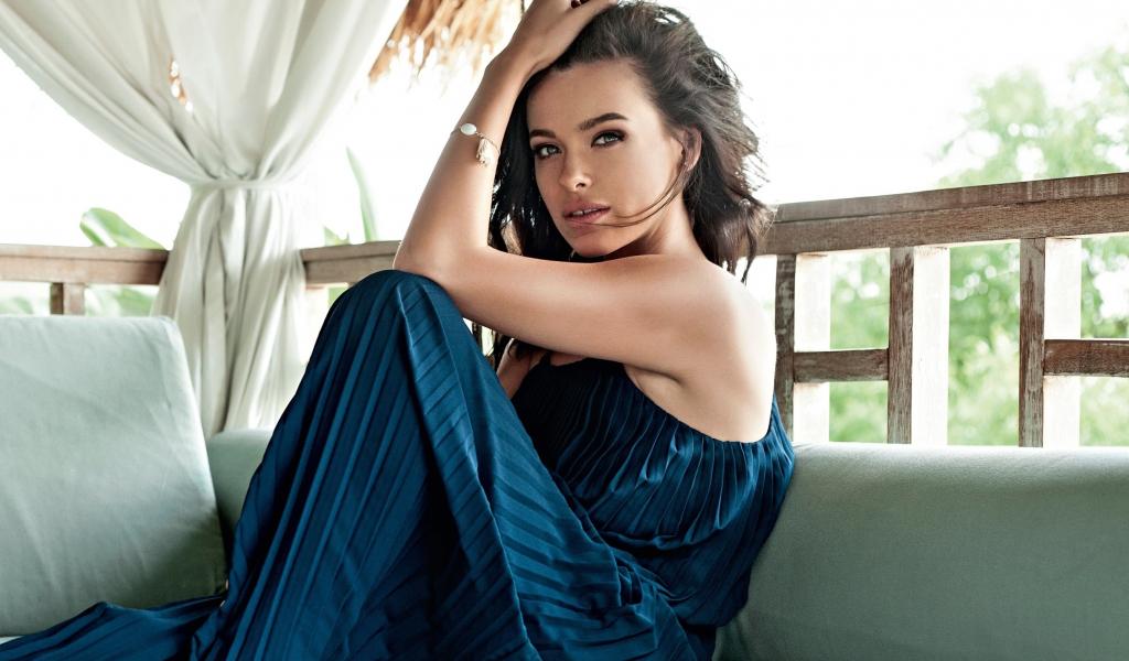 Beautiful, Elena Temnikova, singer, 1024x600 wallpaper