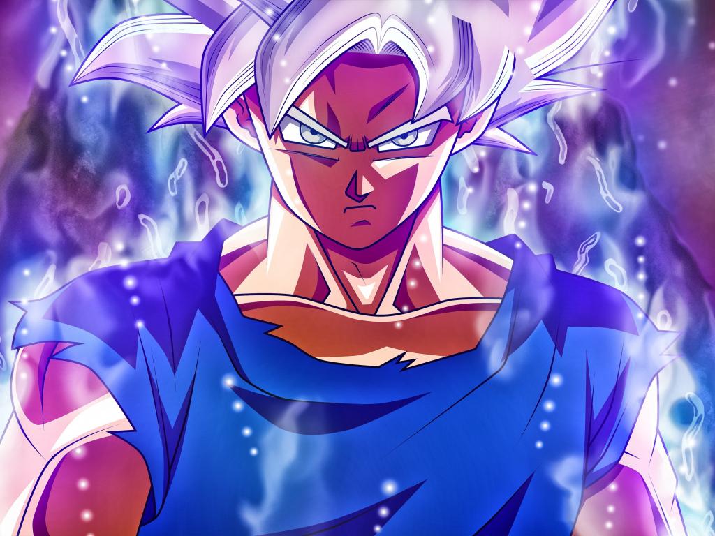 Desktop Wallpaper Angry Man Goku Ultra Instict Power Hd