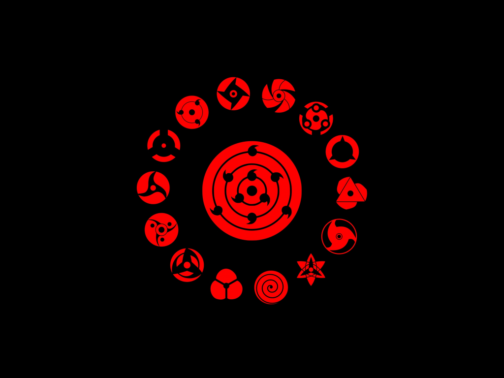 Desktop wallpaper logo, minimal, naruto, hd image, picture ...