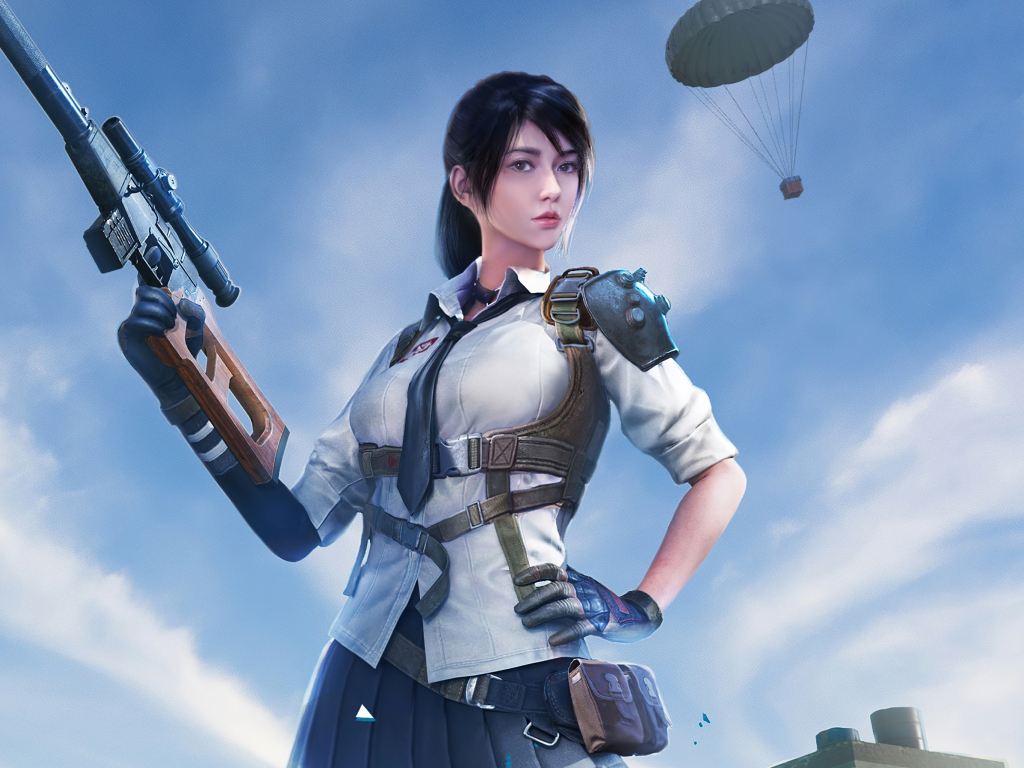 Desktop wallpaper 2020 pubg, girl character, beautiful ...