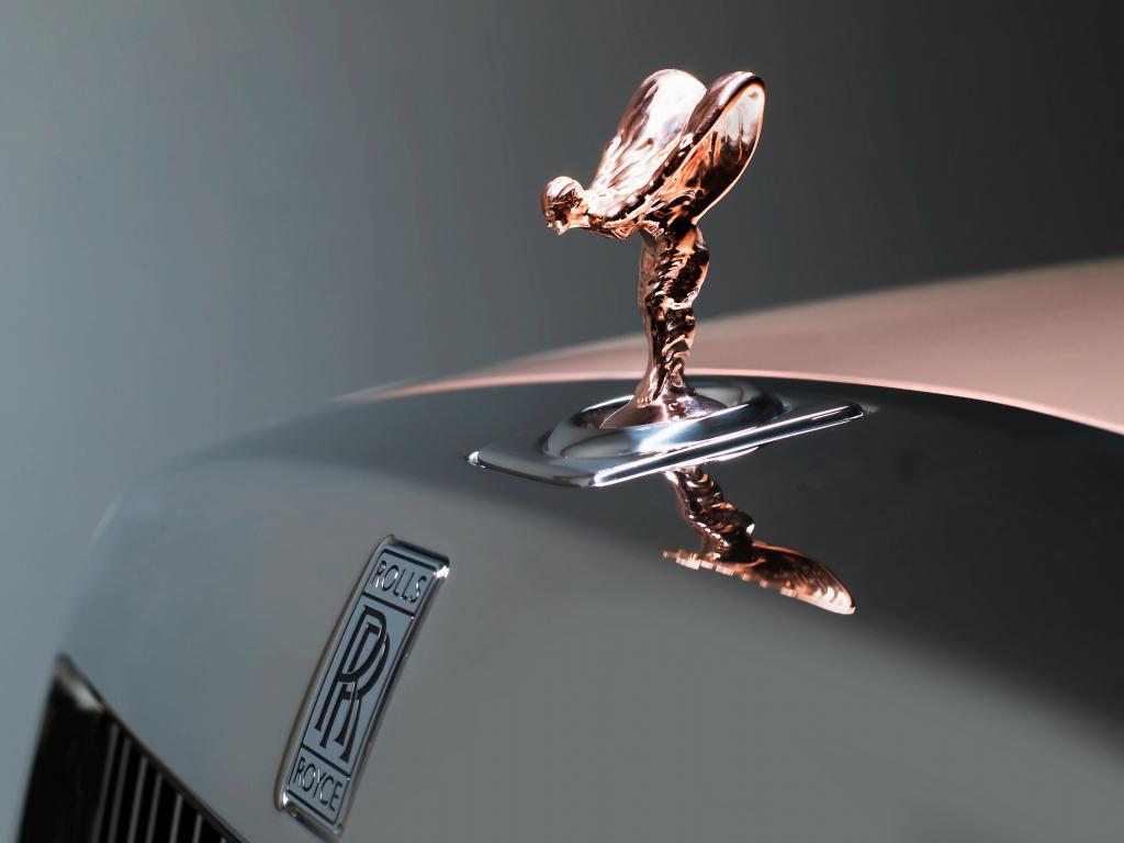 Hd Wallpaper From Samsung J2 Rolls Royce: Desktop Wallpaper Rolls-royce Phantom, Logo, Brand, Hd