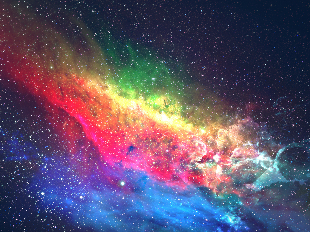 Desktop wallpaper colorful, galaxy, space, digital art, hd ...