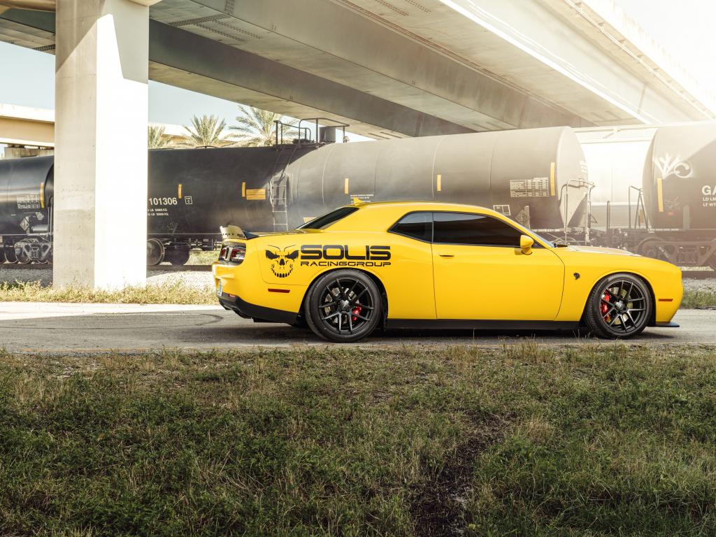 Desktop wallpaper 2019 dodge challenger, muscle car, hd ...