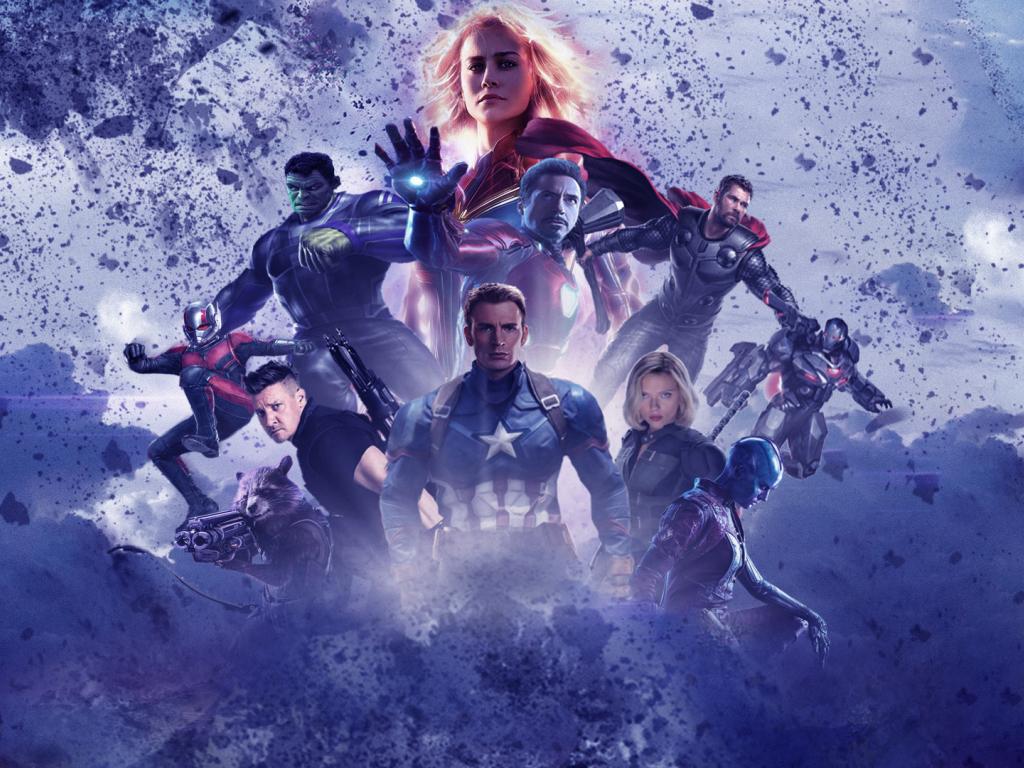 Movie Poster 2019: Desktop Wallpaper Avengers: Endgame, All Superheroes, 2019