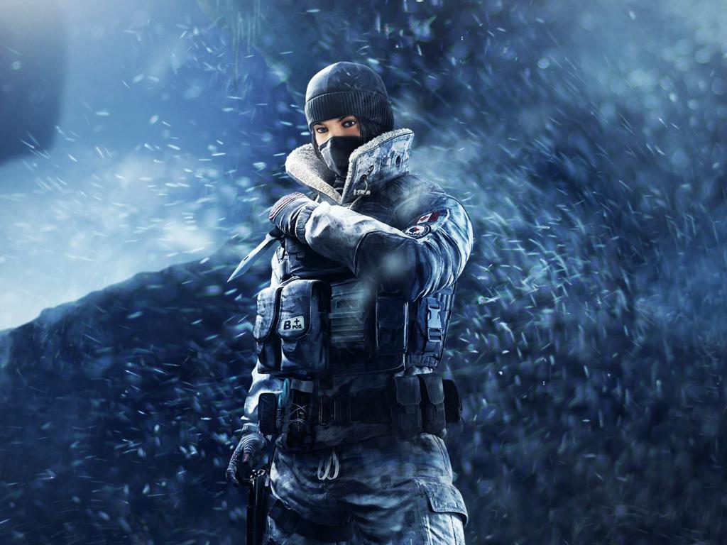 Tom clancys rainbow six siege frost game 4k