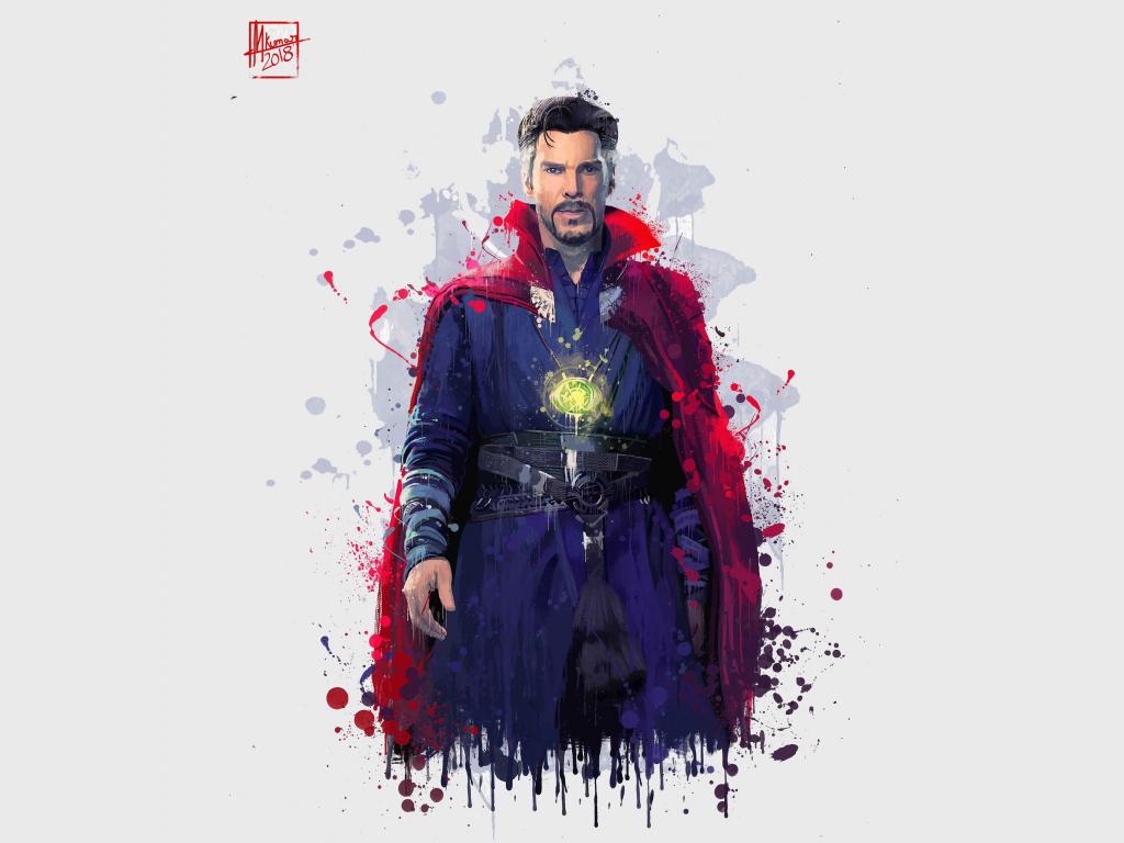 Doctor Strange Marvel Movie Wallpapers Widescreen Cinema: Desktop Wallpaper Doctor Strange, Avengers: Infinity War