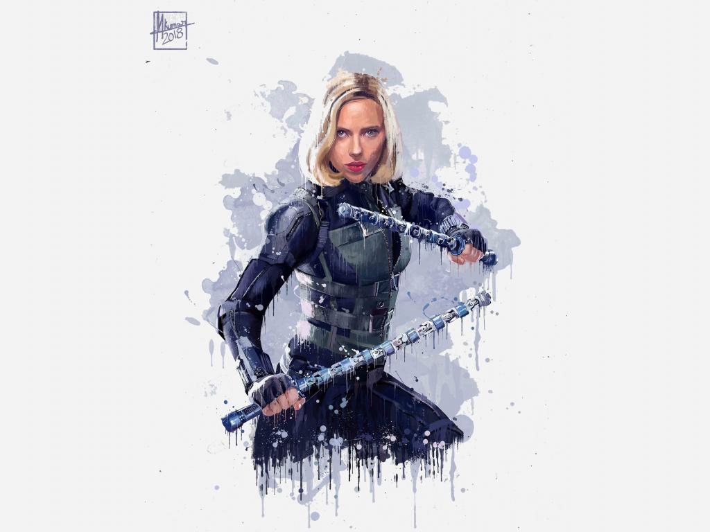 Avengers Infinity War 2018 Thanos 4k Uhd 3 2 3840x2560: Desktop Wallpaper Black Widow, Avengers: Infinity War