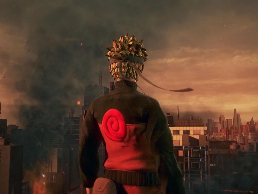 Desktop Wallpaper Naruto Jump Force Video Game 2018 Hd