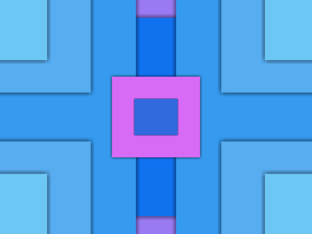 Squares, abstract, material design, 1024x768 wallpaper