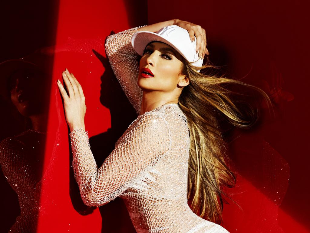 JLO, Jennifer Lopez, celebrity, white dress, 1024x768 wallpaper