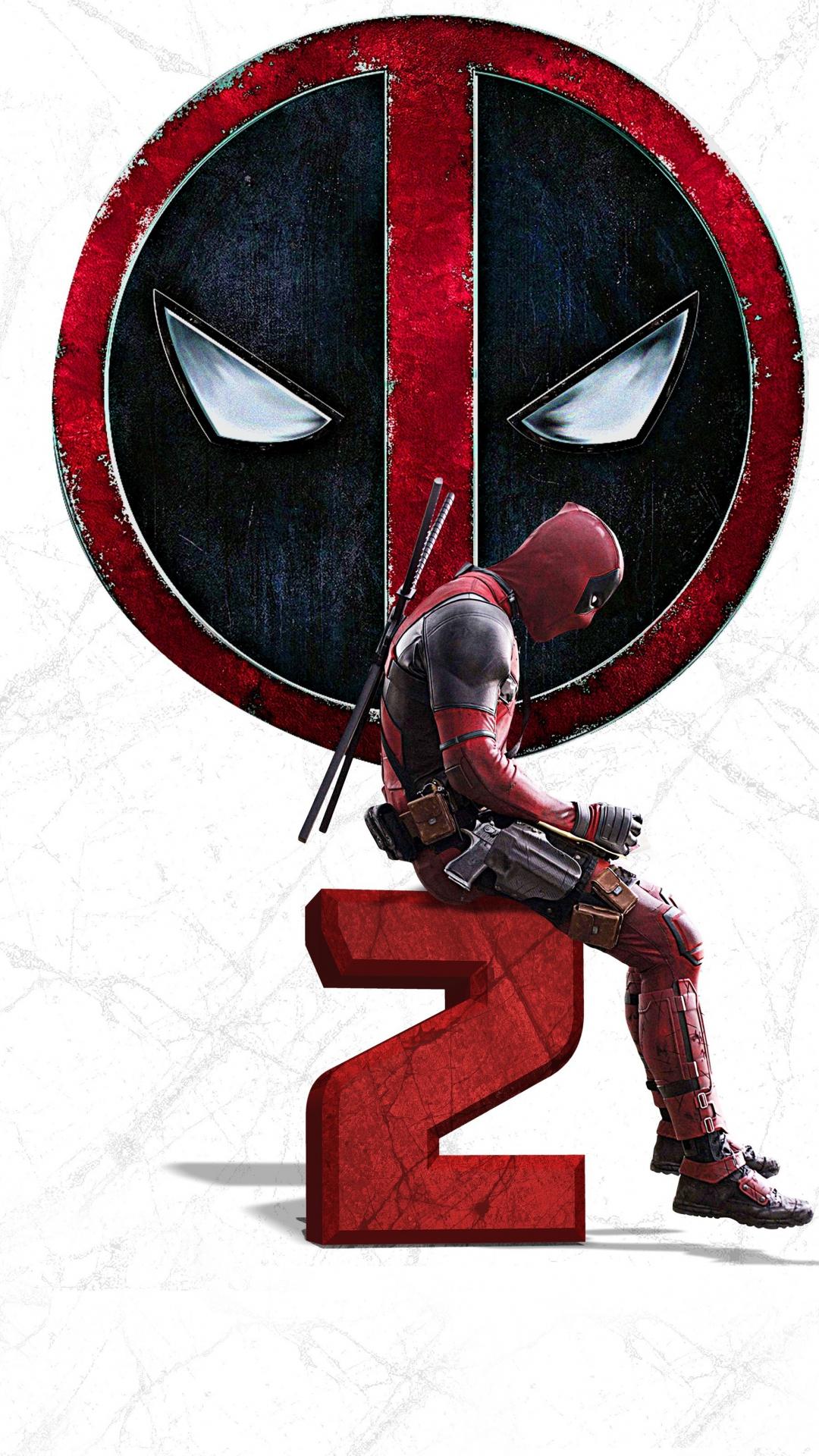 Download 1080x1920 Wallpaper Deadpool 2 2018 Movie