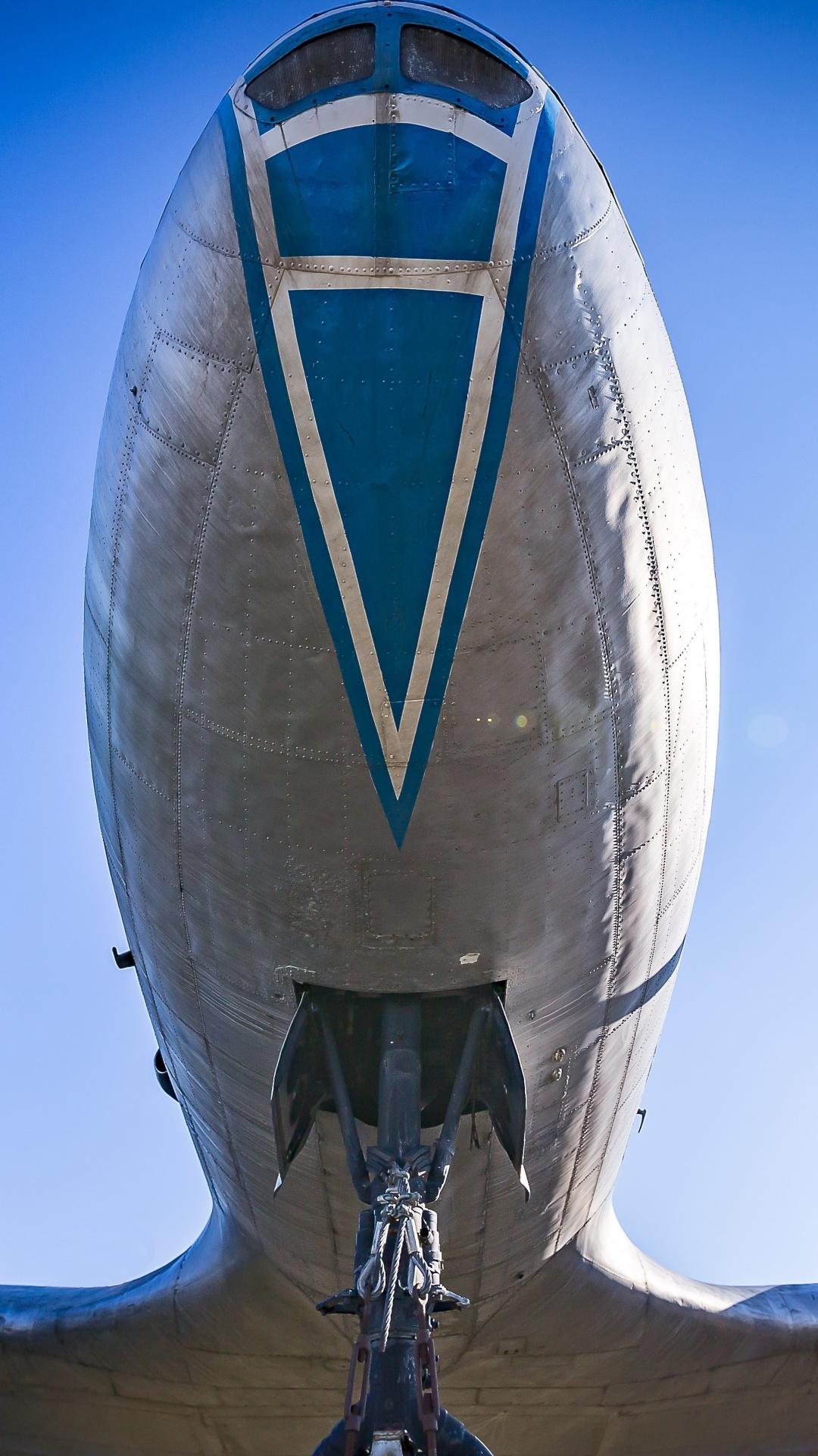 Download 1080x1920 Wallpaper Aircraft Airplane Bottom Samsung