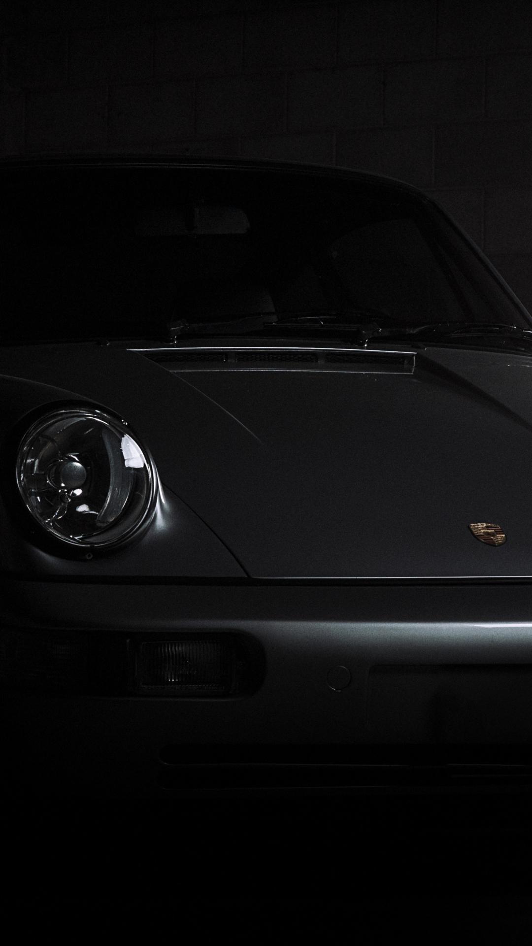 Download 1080x1920 Wallpaper Porsche 911 Carrera Front Dark