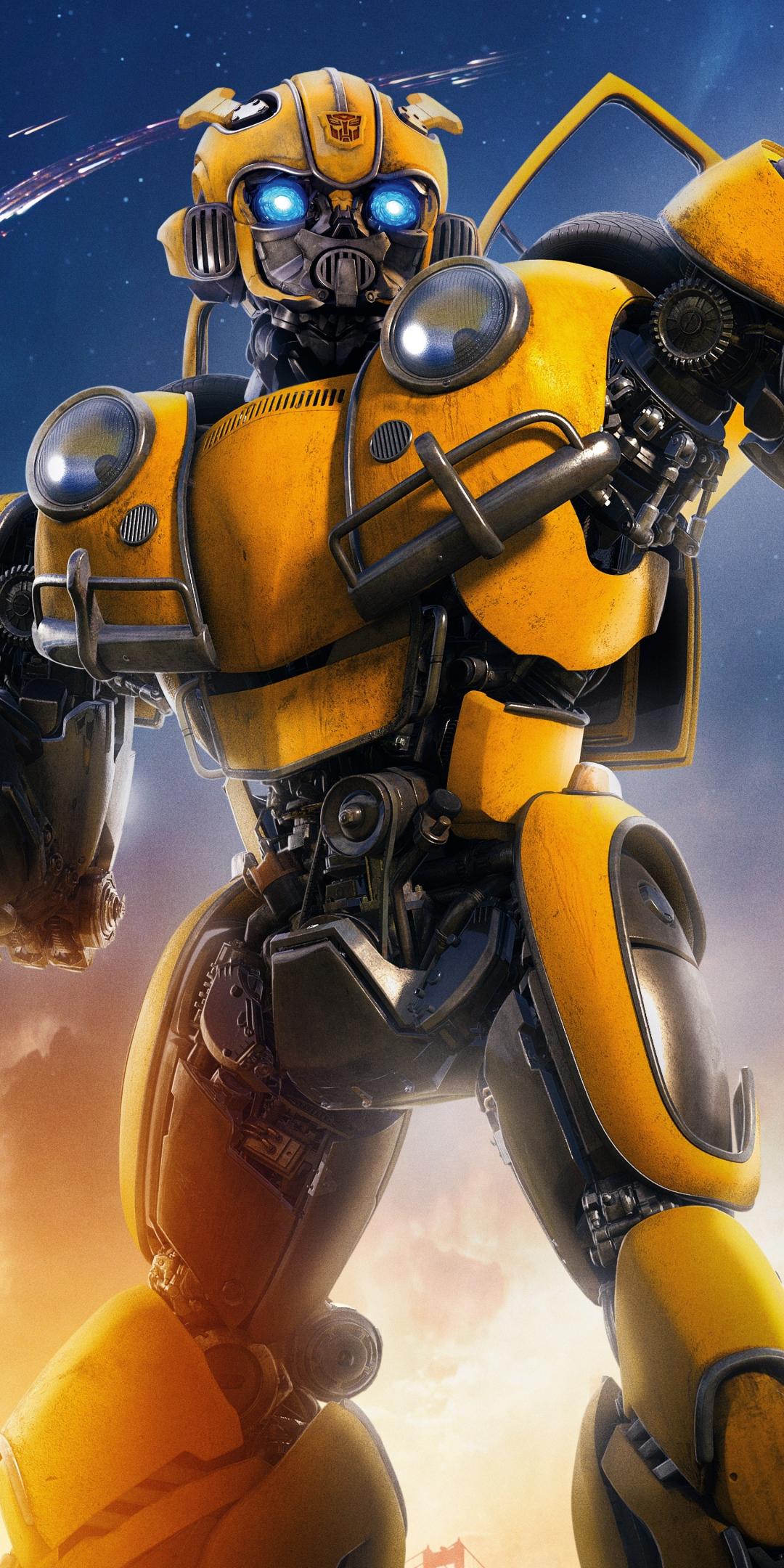 Download 1080x2160 wallpaper robot, movie, transformers ...