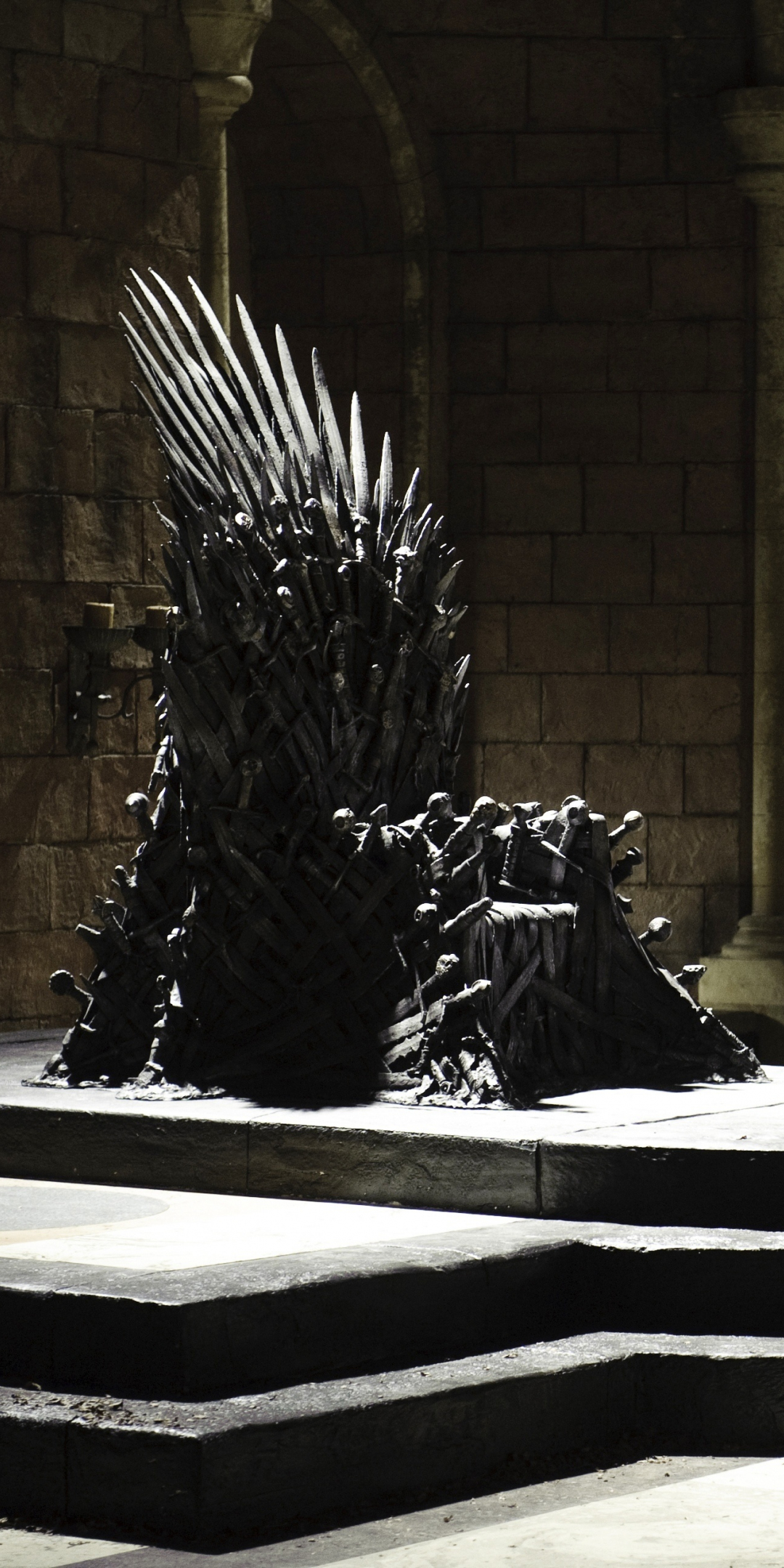 Download 1080x2160 Wallpaper Iron Throne Game Of Thrones Honor