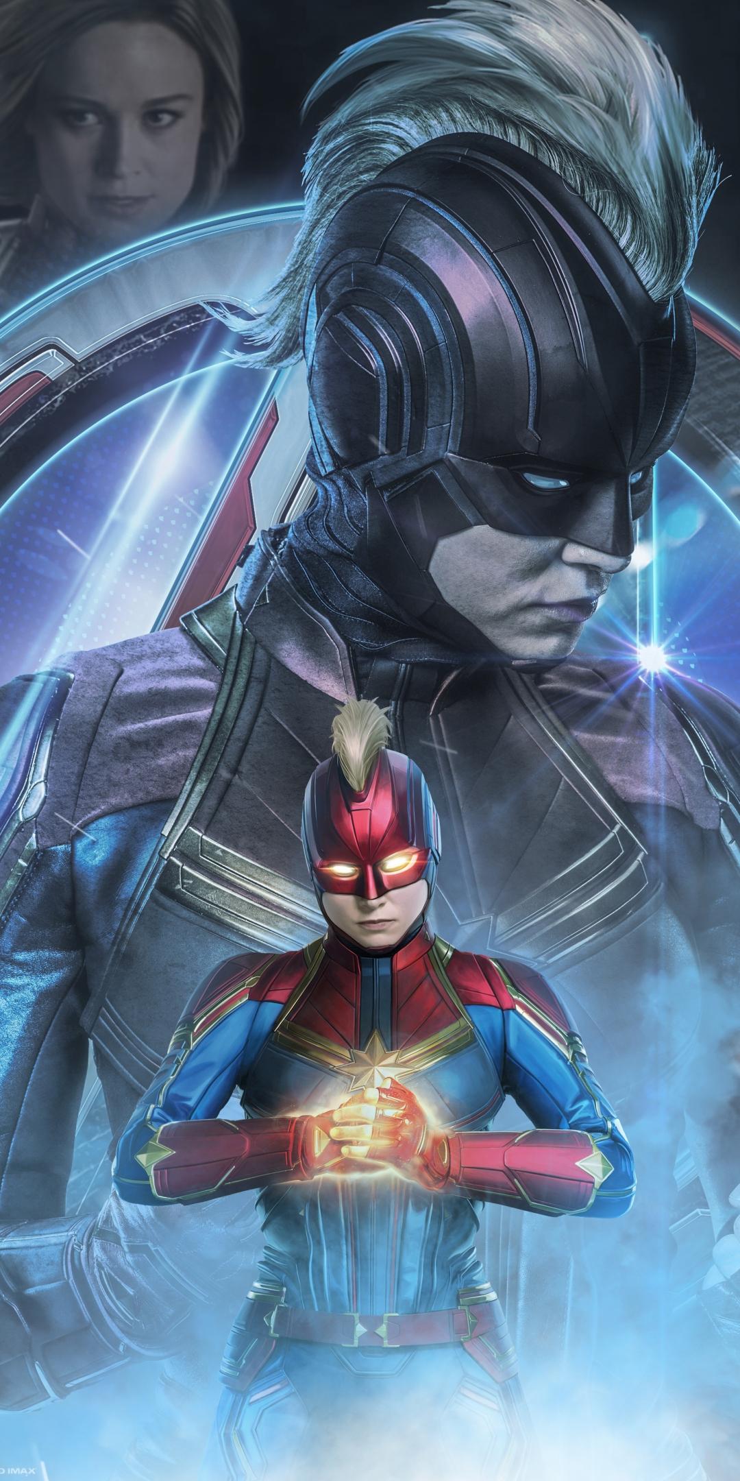 Download 1080x2160 wallpaper avengers: endgame, captain ...