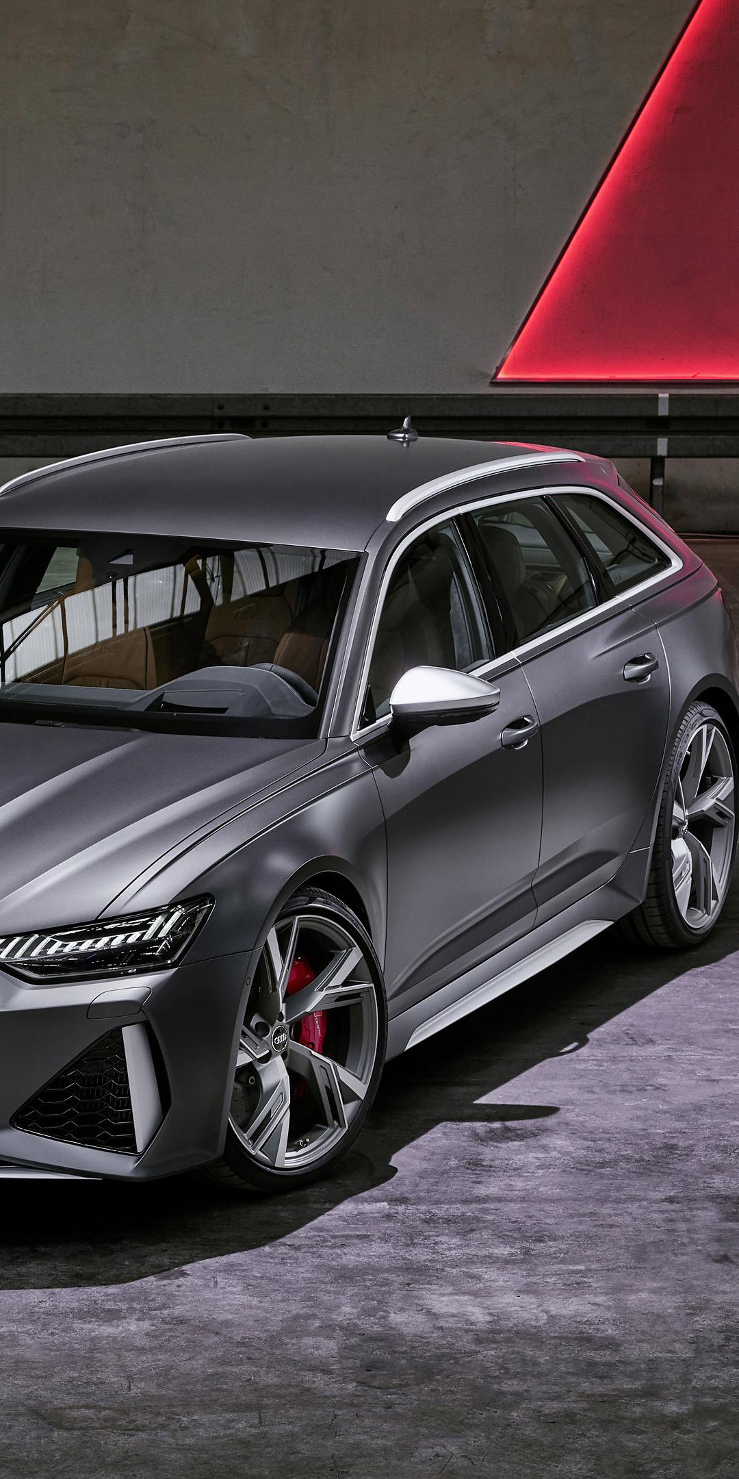 Download 1080x2160 Wallpaper 2019 Audi Rs6 Avant Car Honor