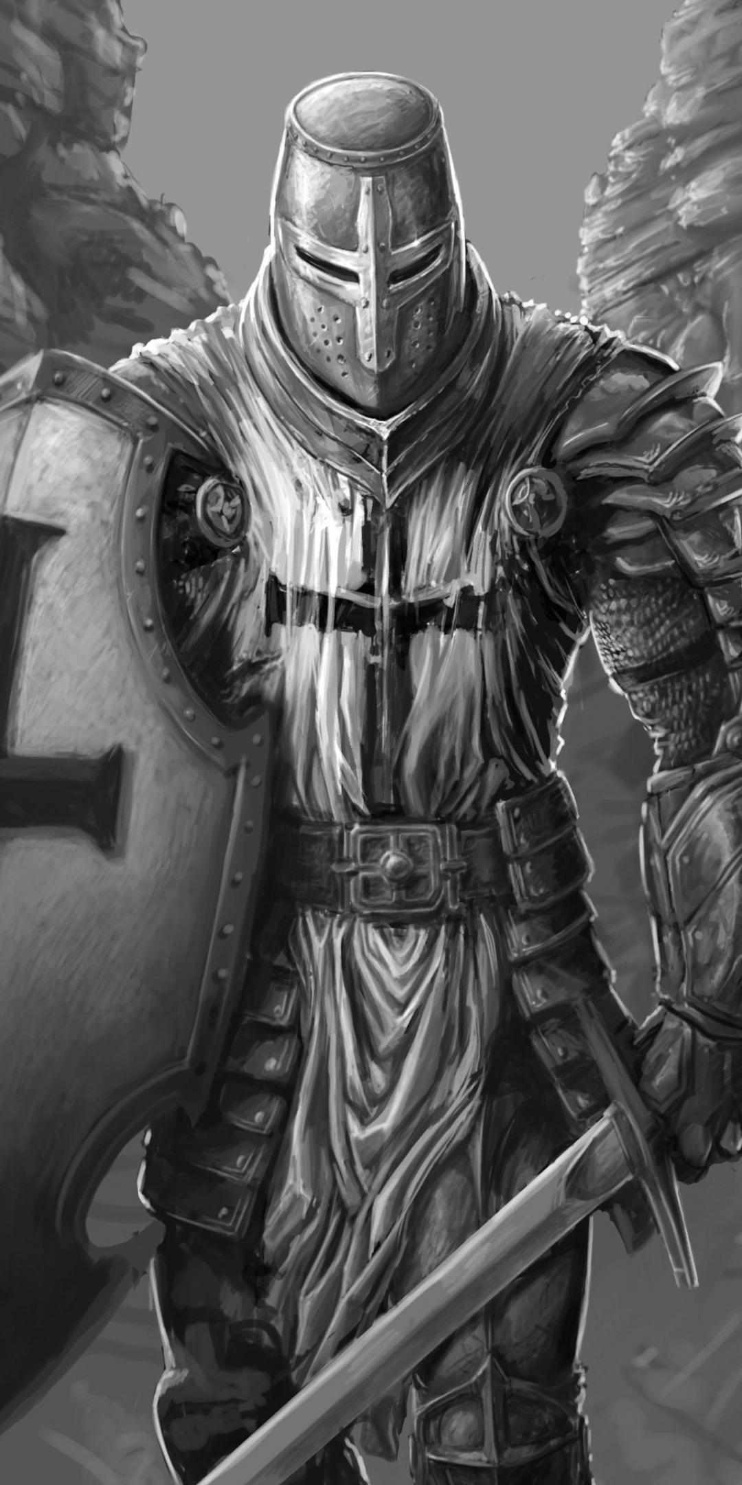 Caçadores The-knight-warrior-art