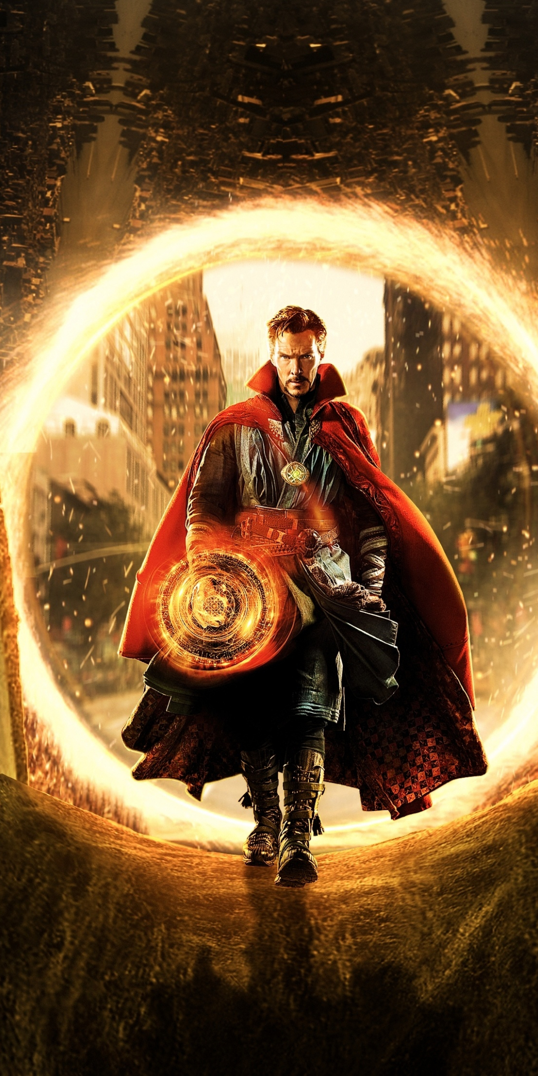 Download 1080x2160 wallpaper movie, doctor strange, marvel ...