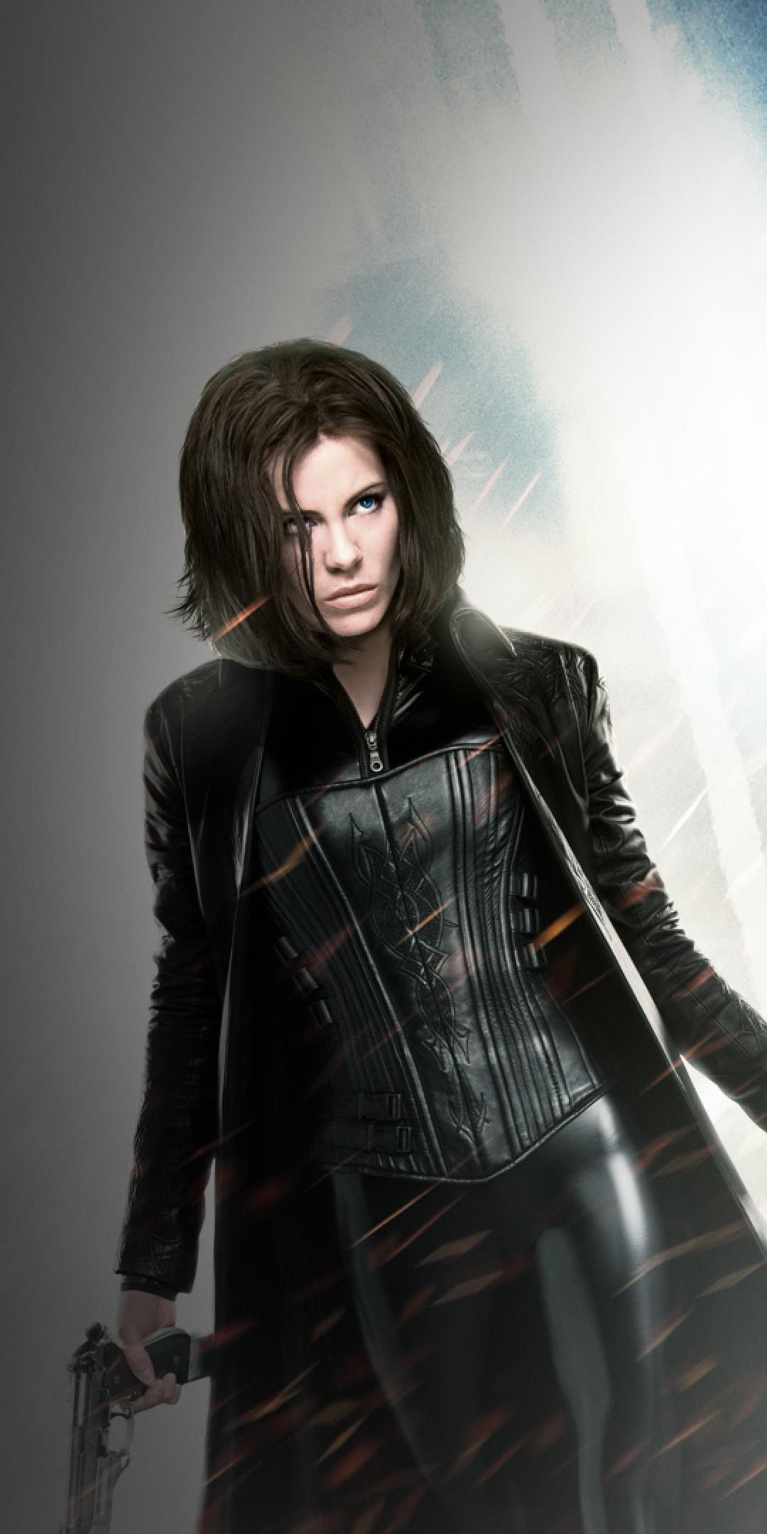Vampire, Kate Beckinsale, Underworld, movie, 1080x2160 wallpaper