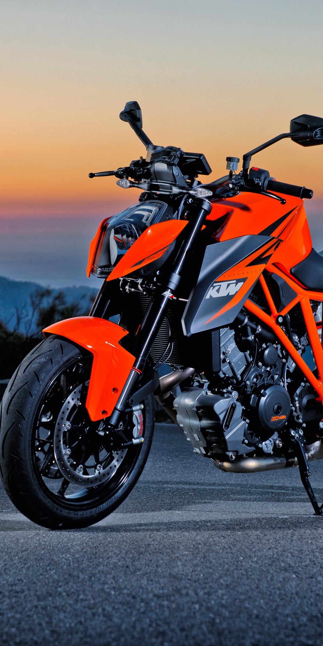 Download 1080x2160 Wallpaper Ktm 200 Duke Sports Bike