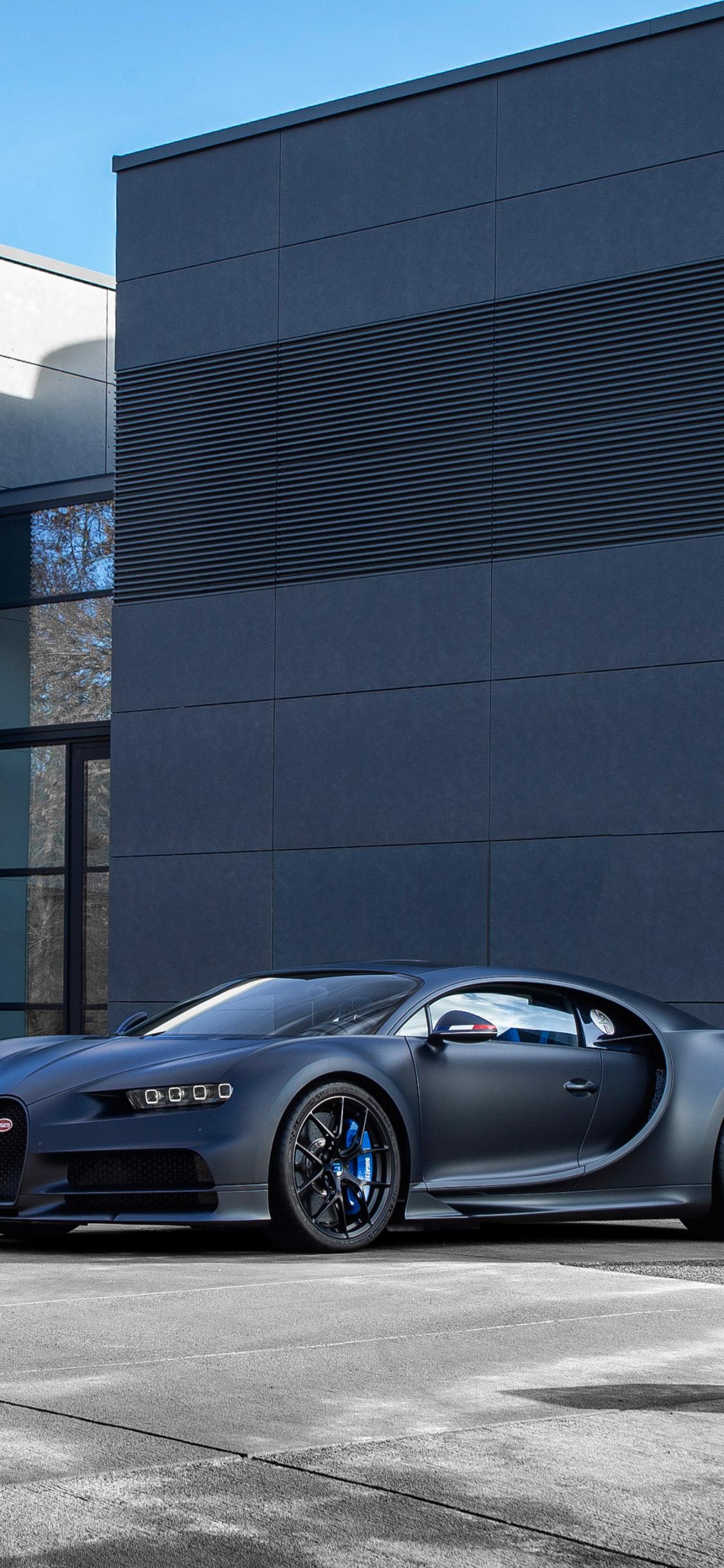 Download 1125x2436 Wallpaper Bugatti Chiron Sport 110 Ans