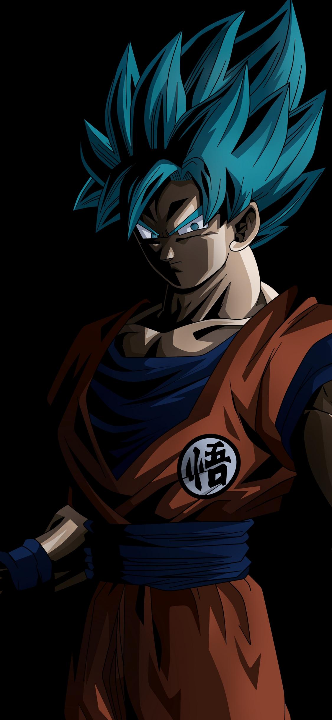 Download 1125x2436 Wallpaper Anime Minimal Dragon Ball