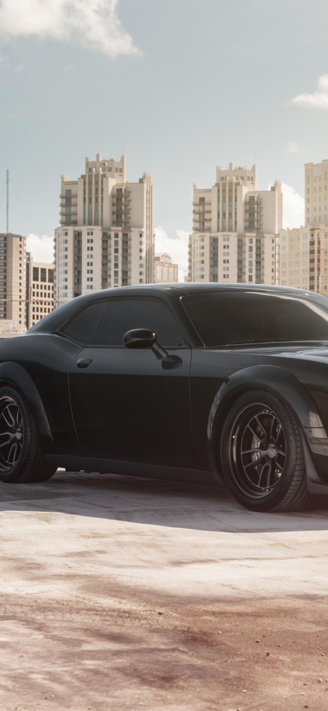muscle car dodge challenger srt 8k 2019