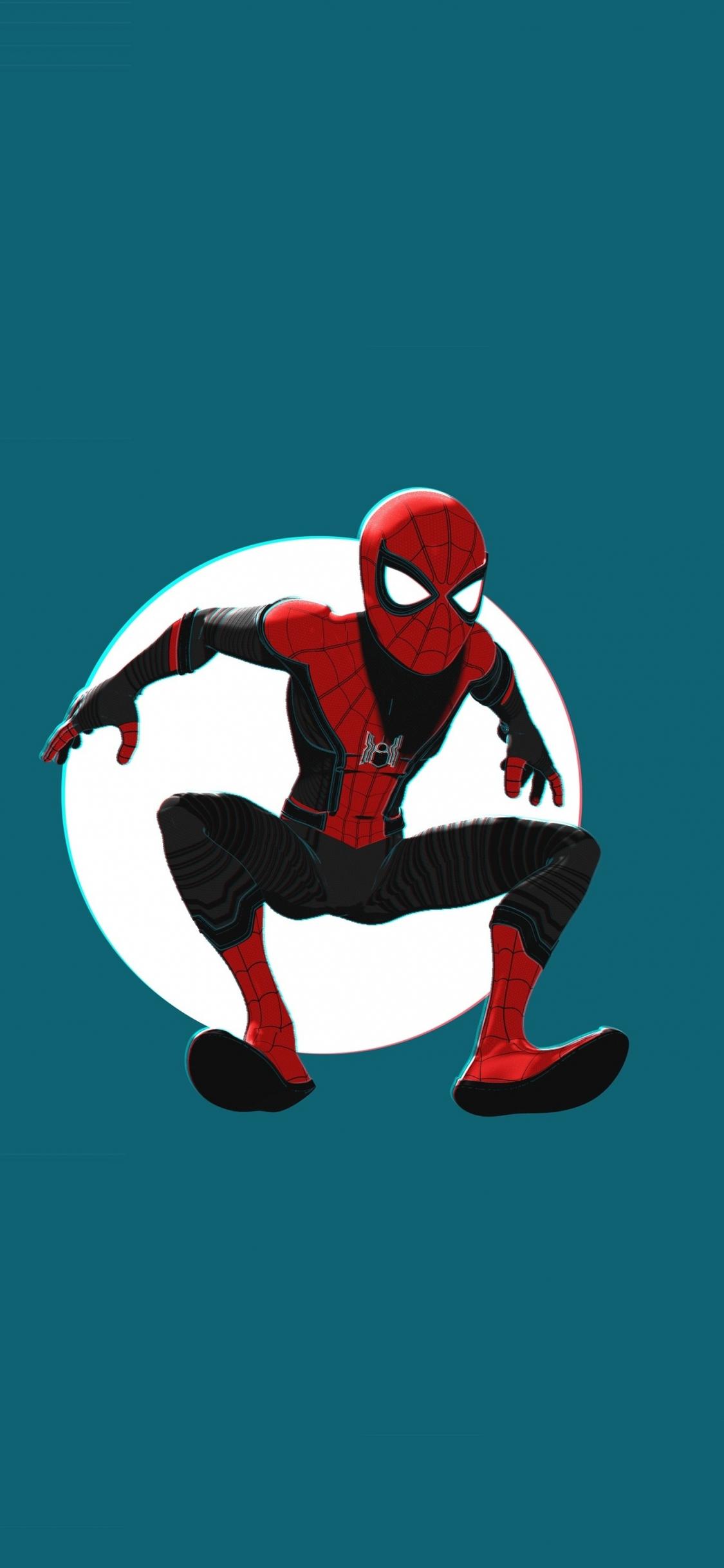 Download 1125x2436 Wallpaper Spider Man Into The Spider Verse