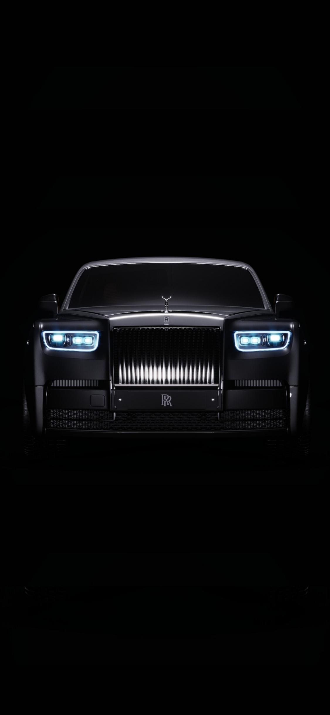 Download 1125x2436 Wallpaper Front Rolls Royce Phantom Portrait Iphone X 1125x2436 Hd Image Background 22282