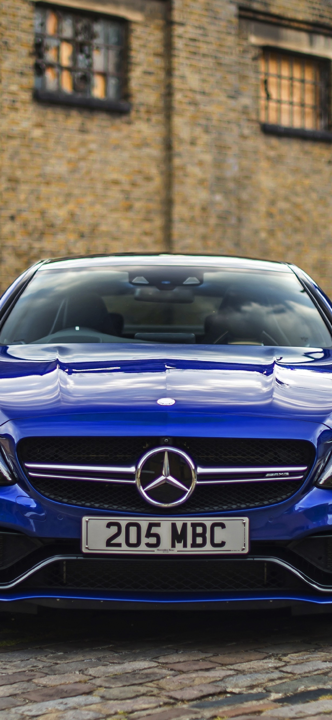 Download 21x21 wallpaper front, blue, luxury car, mercedes ...