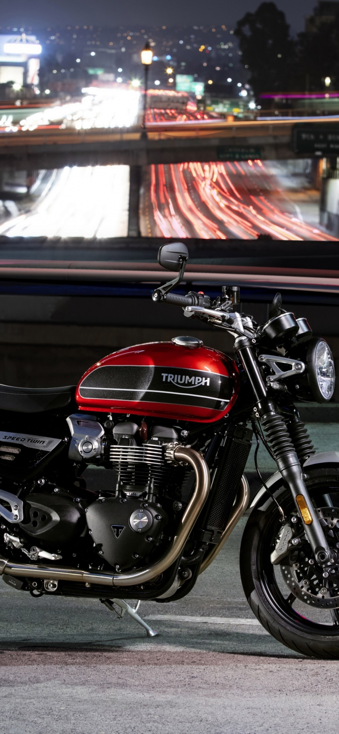 Download 1125x2436 Wallpaper 2019 Motorcycle Triumph Speed