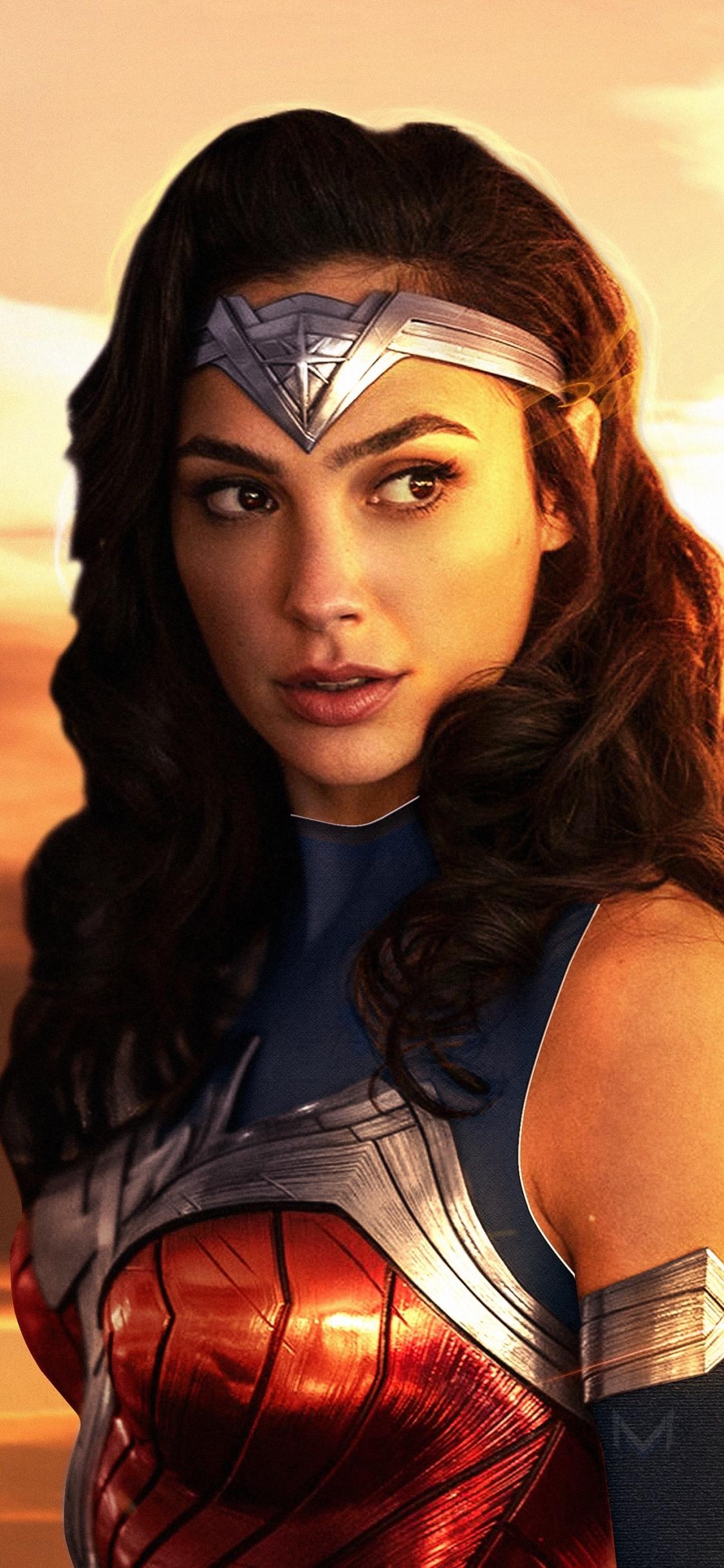Wonder Woman 1984 2019 Movie Art 1125x2436 Wallpaper
