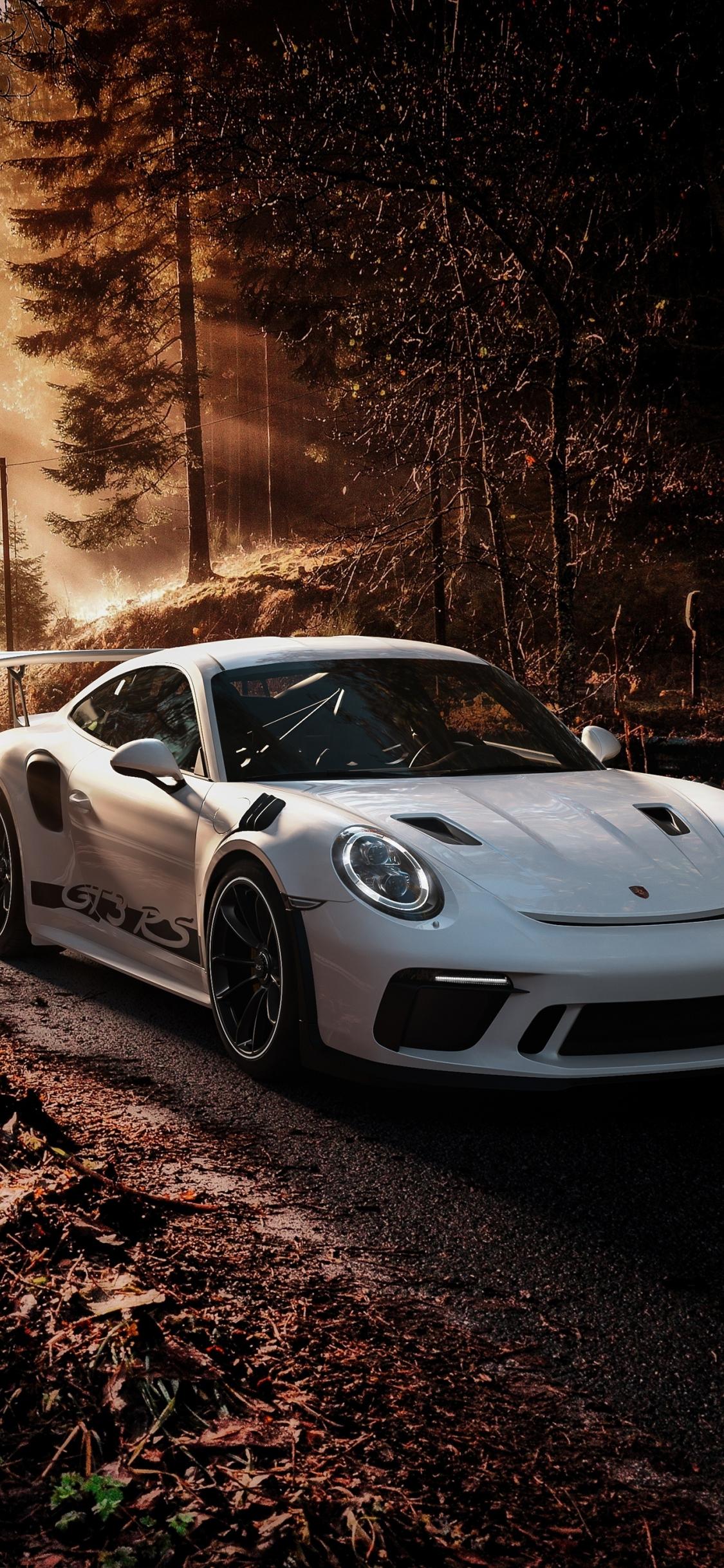 Download 1125x2436 Wallpaper Porsche 911 Gt3 Rs 2019 Iphone X