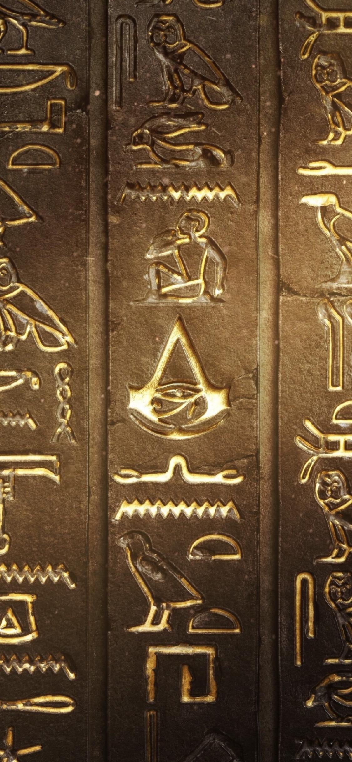 Download 1125x2436 Wallpaper Assassin S Creed Origins Video Game