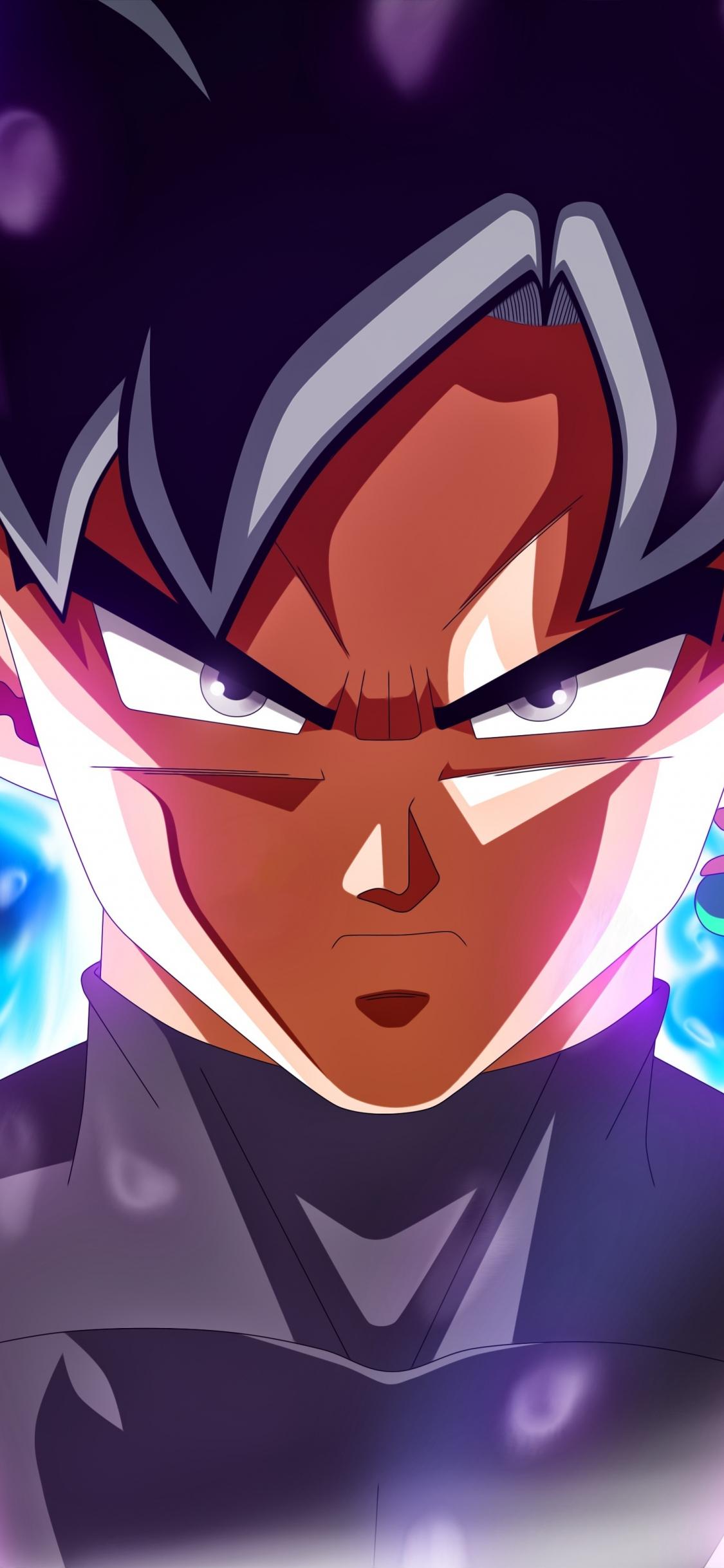 Download 1125x2436 Wallpaper Ultra Instinct Dragon Ball Black Goku