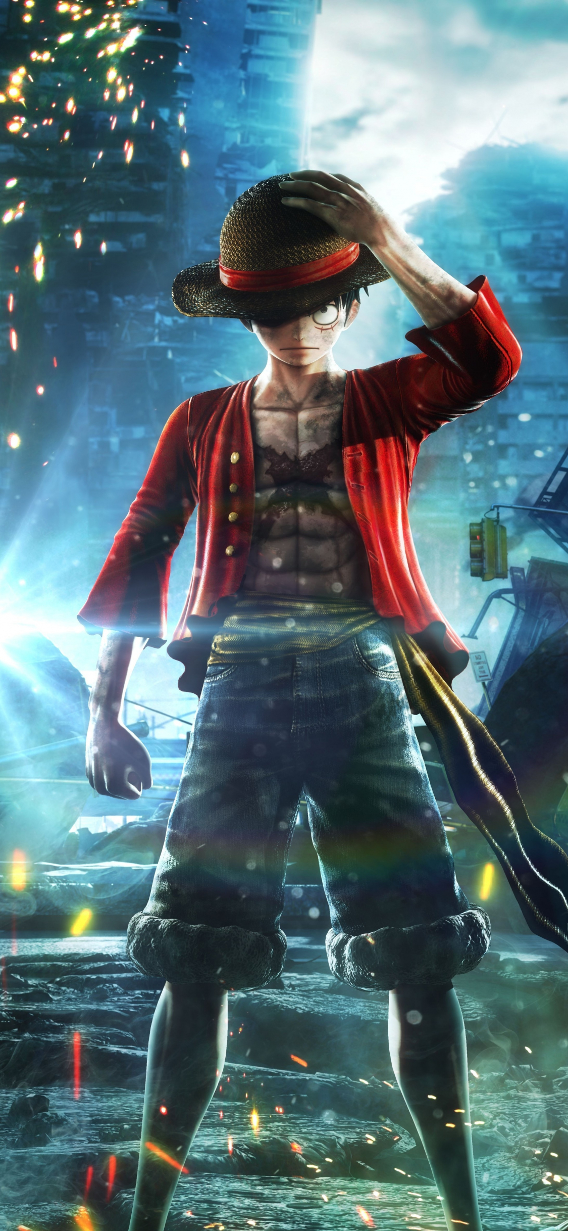 Download 1125x2436 Wallpaper Jump Force Anime Video Game