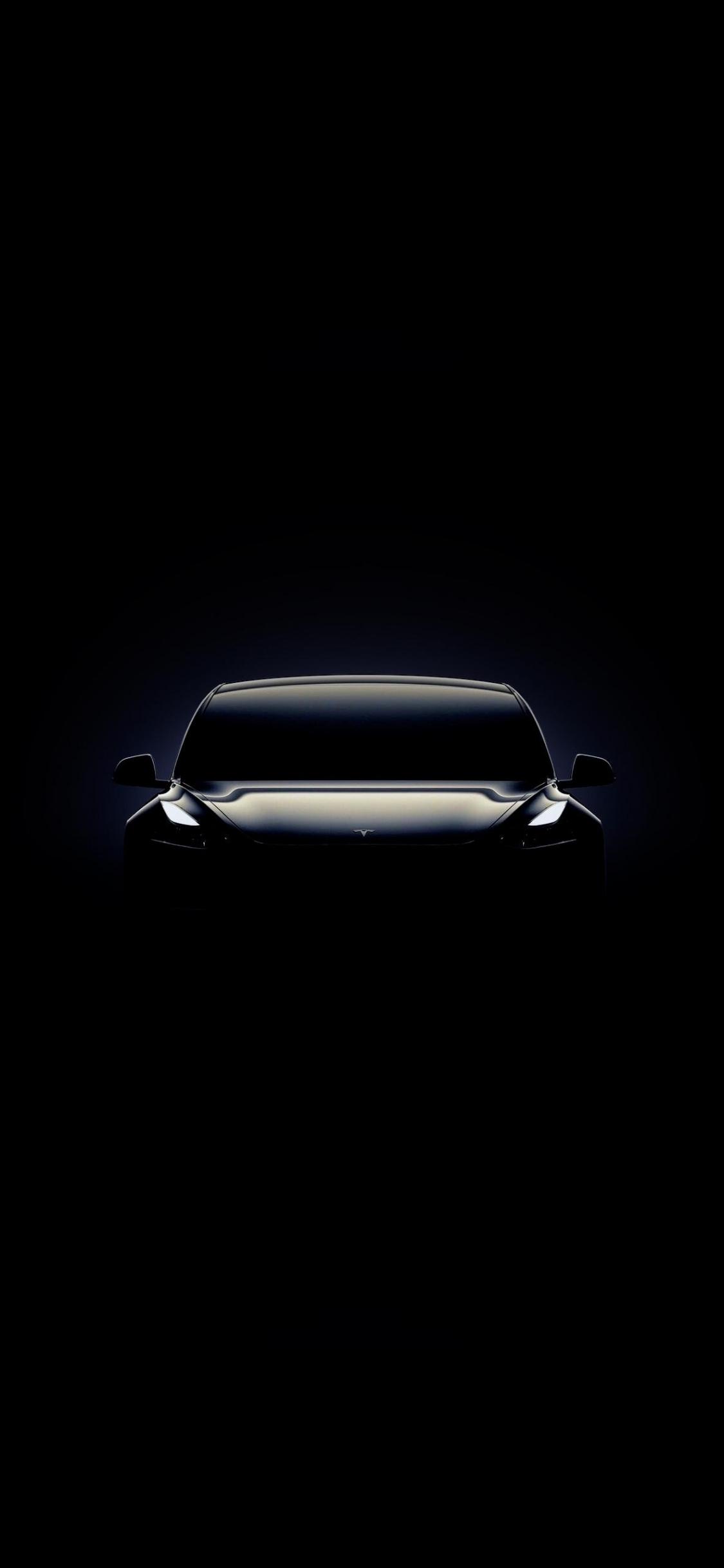 Download 1125x2436 Wallpaper Tesla Model 3 Portrait Iphone X
