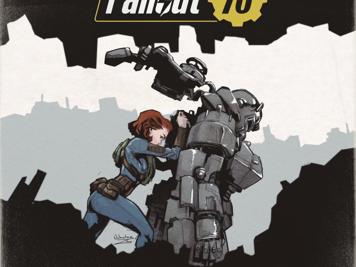Download 1152x864 Wallpaper Artwork Fan Made Fallout 76 Standard 4 3 Fullscreen 1152x864 Hd Image Background 8976