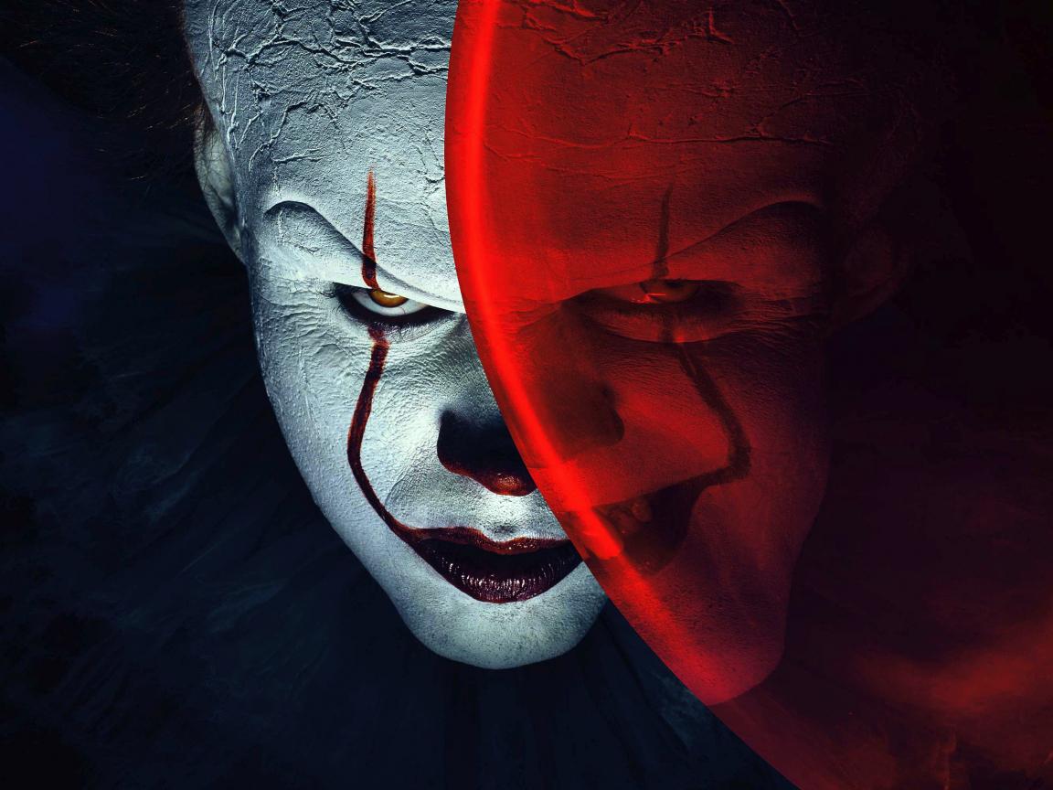 Joker, clown, it, balloon, movie, 1152x864 wallpaper