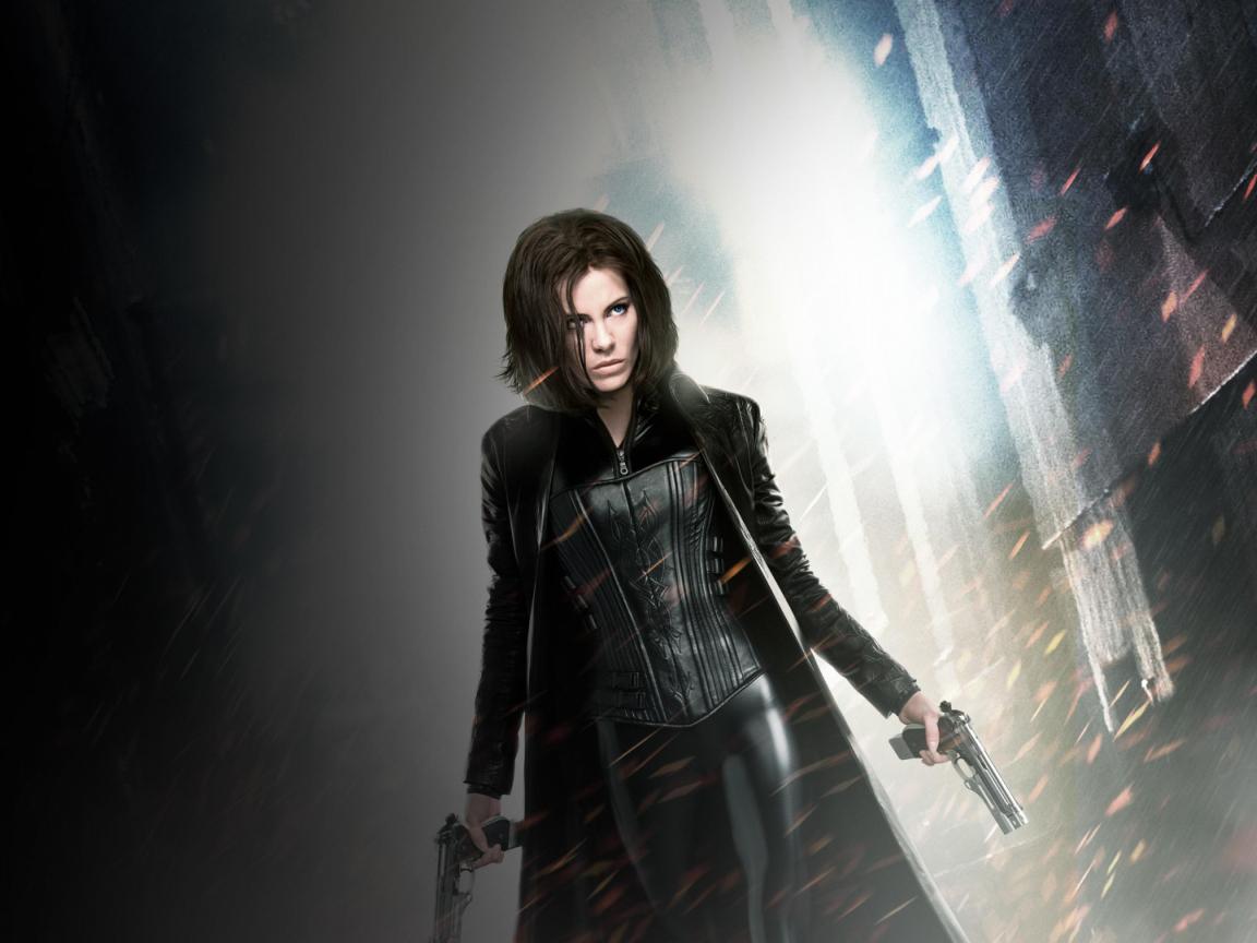 Vampire, Kate Beckinsale, Underworld, movie, 1152x864 wallpaper