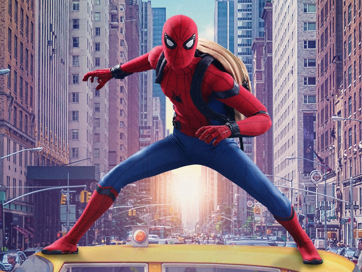 Download 1152x864 Wallpaper Spider Man Homecoming Movie