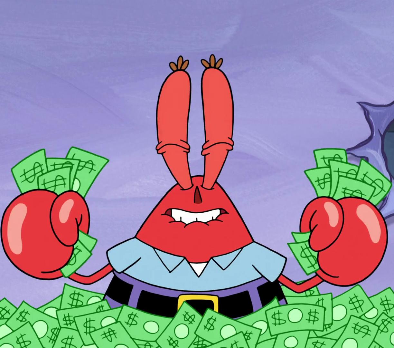 Desktop Wallpaper Mr. Krabs, Spongebob Squarepants, Tv