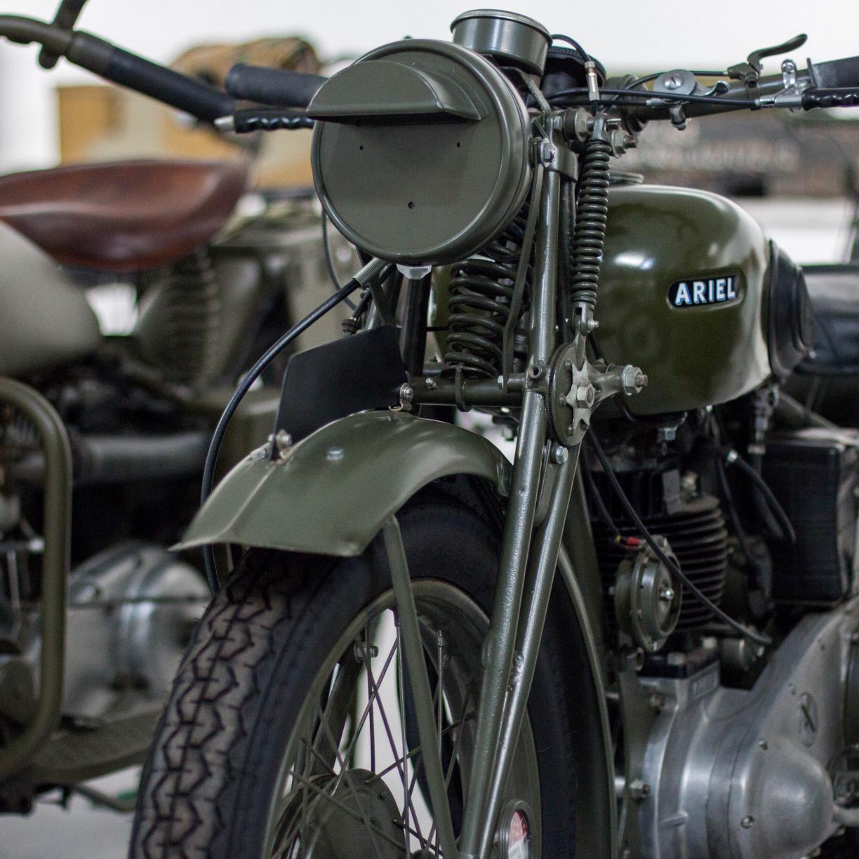 Vintage, retro, motorcycle, bike, front, 1224x1224 wallpaper