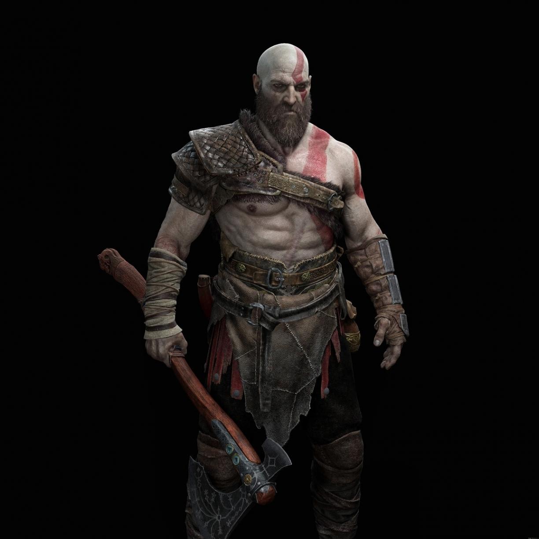Desktop Wallpaper God Of War Kratos Warrior Art Hd Image