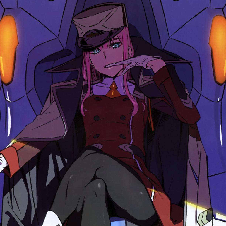 Desktop Wallpaper Zero Two Darling In The Franxx Anime Girl