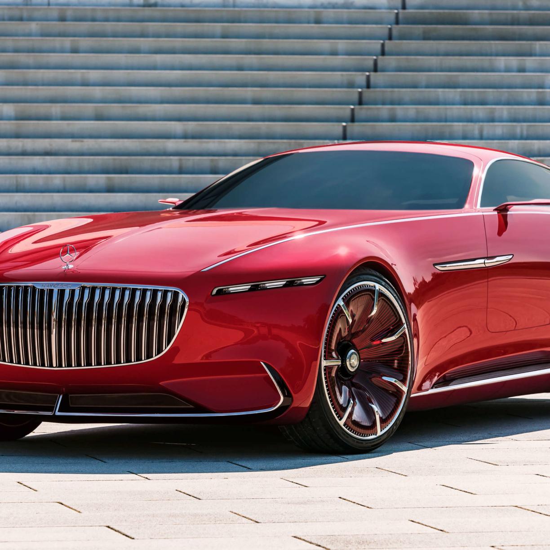 Desktop Wallpaper Vision Mercedes-maybach Ultimate Luxury